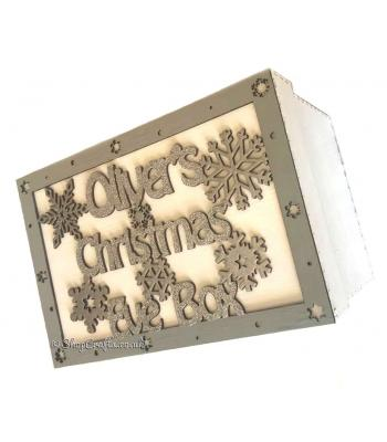 Personalised Snowflake Christmas Eve Box