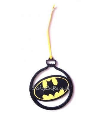 Defender of the Night Superhero Hanging Christmas Tree Bauble * More Designs Available