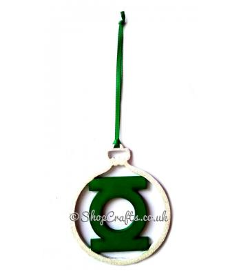 Ring Healer's Superhero Hanging Christmas Tree Bauble * More Designs Available
