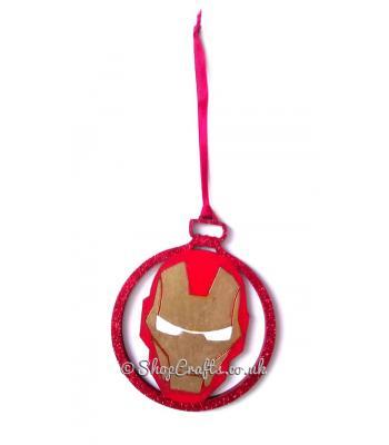 Robotic Hero Superhero Hanging Christmas Tree Bauble * More Designs Available