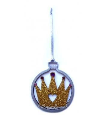 Royal Princess Crown Tree Bauble