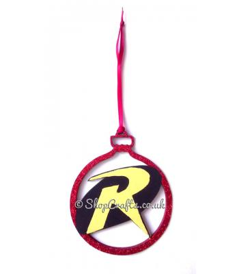 Deputy of the Night Superhero Hanging Christmas Tree Bauble * More Designs Available