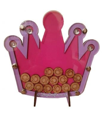 Princess crown reward chart drop box