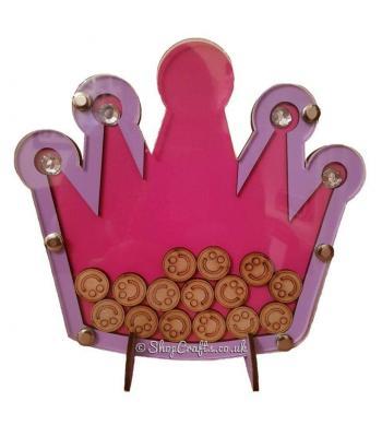 Princess crown reward chart drop box
