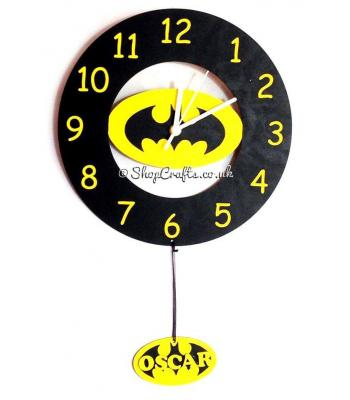 Batman Wall Clock  with mechanism