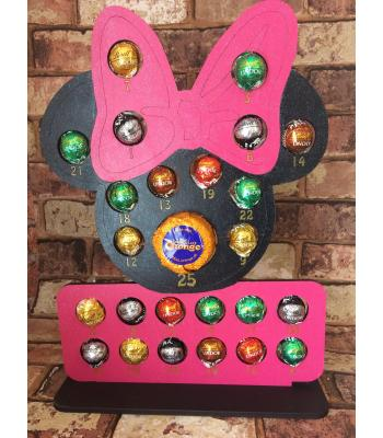 Xmas Advent Calendar - Minnie MOUSE - FERRERO ROCHER/LINDT range