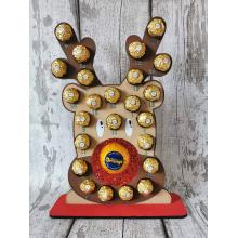 Reindeer Head Advent Calendar - FIts Fererro and Lindt confectionary