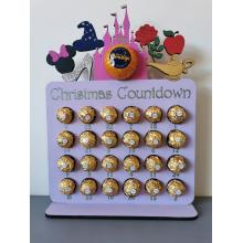 Advent Calendar - Magic Castle/princess shapes/fairytale design