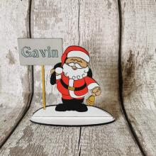 Christmas Table Place Setting personalised with name - Santa