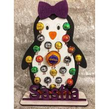 Penguin BOY OR GIRL Advent Calendar - Fits Fererro and Lindt Chocolate Balls