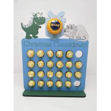 Dinosaur Advent Calendar - Ferrero Rocher and Lindt