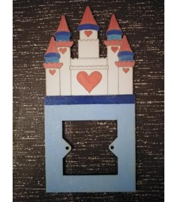 Light Switch Surround - Girls Bedroom Range - PRINCESS CASTLE Design