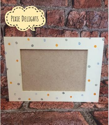 Photo Frame with Glass - FREESTANDING - 6x4 photo size
