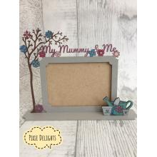 'My Mum & Me' 3D Photo Frame - Other family names available i.e. Nanny