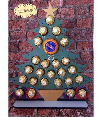 Xmas Advent Calendar - FERERRO/LINDT - Christmas Tree - OTHER DESIGNS available