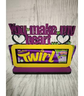 Novelty Confectionery/Chocolate holder - TWIRL
