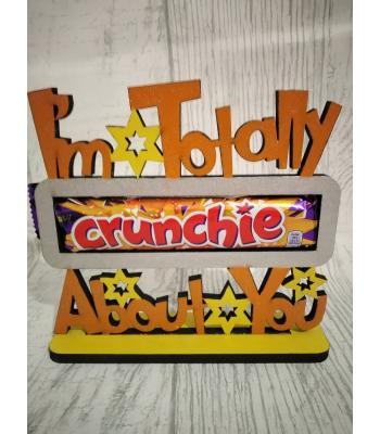 Novelty Confectionery/Chocolate holder - CRUNCHIE