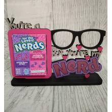 Novelty Confectionery/Sweets holder - NERDS