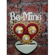 'Be Mine' Valentines Heart Ferrero Rocher Holder