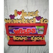 Novelty Confectionery/Chocolate holder - WISPA