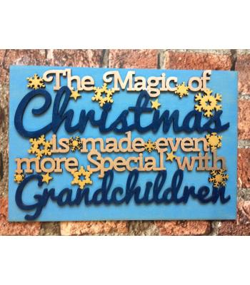 Christmas Decoration quote/Sign for all Grandparents