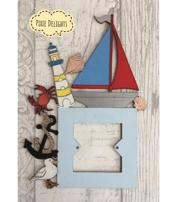 Light Switch Surround - Home Decor Range Nautical Design - ideal for bathroom