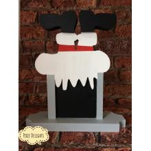 Freestanding 3D Christmas Countdown in a stand - Santa Boots - 3 designs