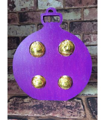 FREESTANDING Christmas BAUBLE confectionery holder - Ferrero Rocher