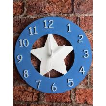 Wall Clock - Star Design - 15 Designs - matching items available