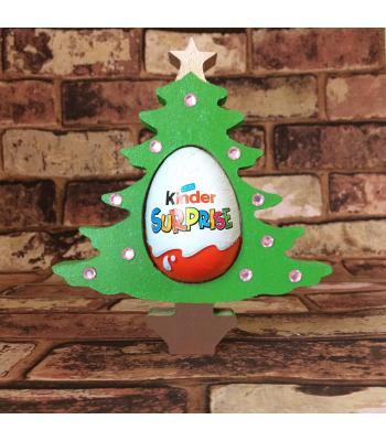 FREESTANDING Christmas TREE confectionery holder - Kinder Egg