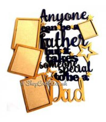 Photo frame DAD - 'Anyone can be a Father but it takes someone special to be a Dad'