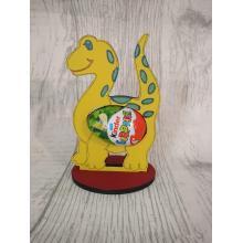 Easter - Kinder Egg confectionery holder - Dinosaur design