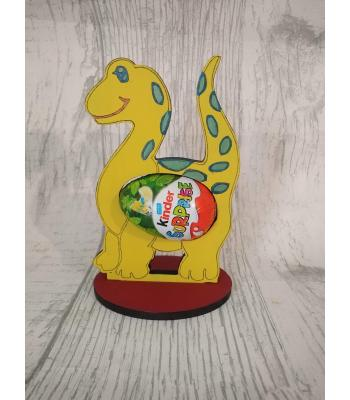 Easter - Kinder Egg confectionery holder - Dinosaur design