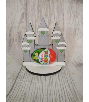 Easter - Kinder Egg confectionery holder - Princess Castle design