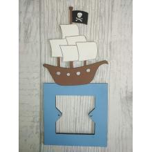 Light Switch Surround- Boys BedroomRange - PIRATE SHIPdesign