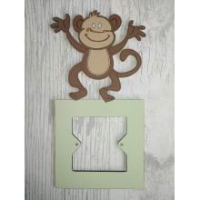 Light Switch Surround- Boys BedroomRange - Monkey design