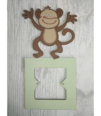 Light Switch Surround - Boys Bedroom Range - Monkey design