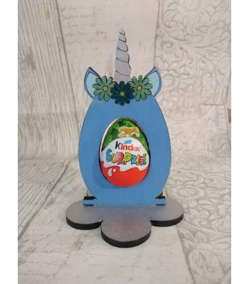 Easter - Kinder Egg confectionery holder - Unicorn design