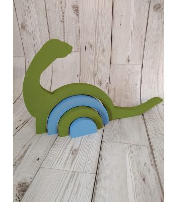 Freestanding stacking shape - Dinosaur design - MORE DESIGNS AVAILABLE