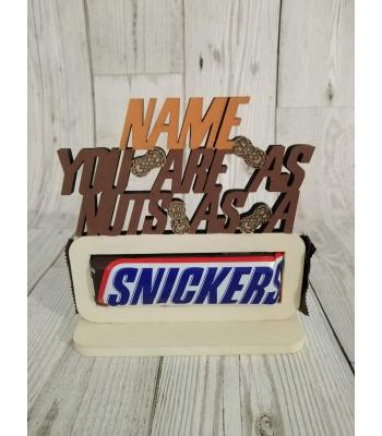 Novelty Confectionery/Chocolate holder - SNICKERS