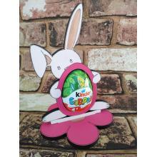 Easter - Kinder Egg confectionery holder - Bunny Rabbit with flopped ear design