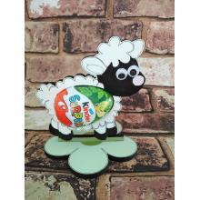 Easter - Kinder Egg confectionery holder - 'Sheep/Lamb' design