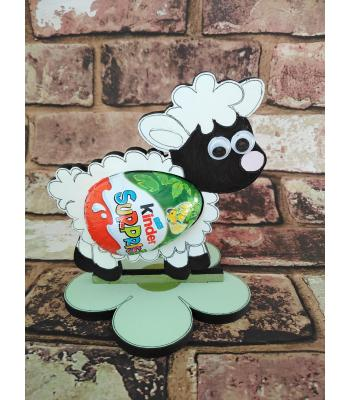 Easter - Kinder Egg confectionery holder - 'Sheep/Lamb' design
