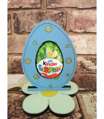Easter - Kinder Egg confectionery holder - Spotty Egg design