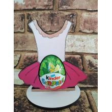 Easter - Kinder Egg confectionery holder - Ballet Tutudesign