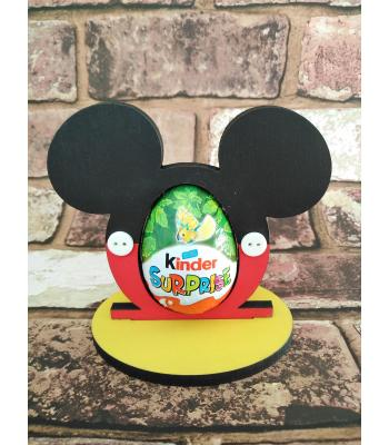 Easter - Kinder Egg confectionery holder - Mickey Mouse design