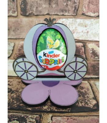 Easter - Kinder Egg confectionery holder - Princess Carriage design