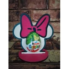Easter - Kinder Egg confectionery holder - Minnie Mouse design