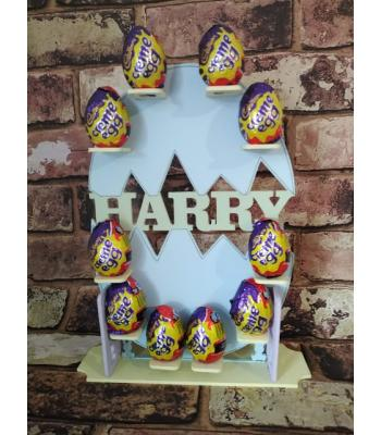 Personalised Cadbury Creme Egg Easter Display Stand