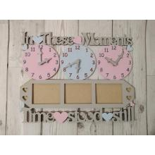 Photo Frame 'In these moments time stood still' clock design(s)-Options Available